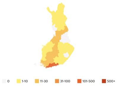 Corona in Finland 140320
